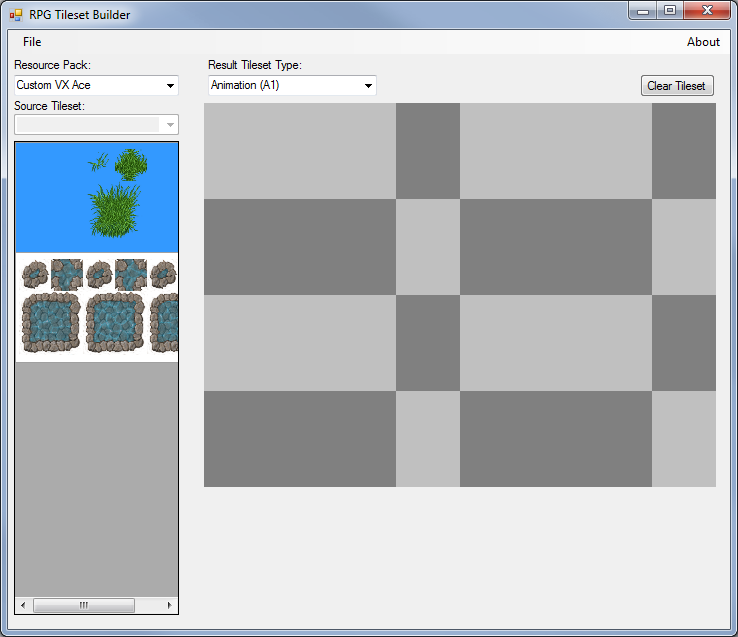 02 - Tileset builder with custom tiles